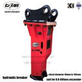 Aufbau-Demolierung-hydraulischer Unterbrecher für Exkavator-leisen Typen