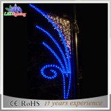 Indicatore luminoso di palo caldo della via della Cina del Manufactory della decorazione 2015 esterni di natale