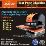 St-E double pneumatique Stations à plat numérique T-Shirt Machine d'impression