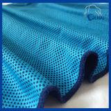 De blauwe Handdoek van het Ijs van Microfiber van de Kleur Koel