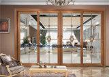 Puerta deslizante del marco de aluminio de dos pistas para la sala de estar