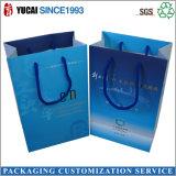 2017 Venta caliente bolsa de cosméticos de compras la bolsa de embalaje de papel