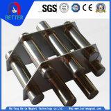 Griglia magnetica/Hoppermagnet della conduttura dell'acciaio inossidabile di certificazione del Ce per il minerale ferroso di ripristino
