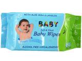 80PCS Soft Thick Baby Skin Wipes Fresh Scented Wet Tissue中国Supplier