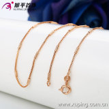 方法女性のローズの金カラーネックレスの宝石類(42398)