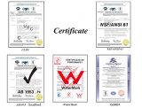 De loodvrije Tapkraan van de Douche van de Badkuip van de Hefboom van het Certificaat van Cupc van het Messing Dubbele