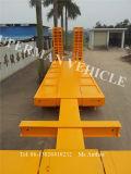 Sechs Plattform-/Low-Ladevorrichtungs-schwerer Förderwagen-Ladung-Schlussteil des Radachsegooseneck-Lowbed/niedriger