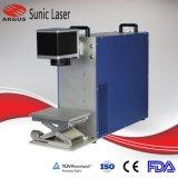 20W máquina de marcado láser de fibra de latón de marcador de pulsera