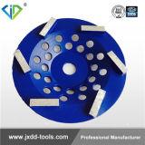 4inch/5inch/6inch/7inchコンクリートのための研摩のSwirlyのコップの車輪