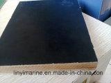 Lijm 15*1250*2500mm van de melamine Zwart Film Onder ogen gezien Triplex