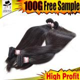 Уток волос малайзийского выдвижения человеческих волос