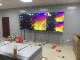 46-дюймовый сенсорный экран Алюминиевая напольные LCD склейки видео на стену