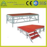 作業パフォーマンス段階装置の合板の調節可能で適用範囲が広いイベントアルミニウム段階