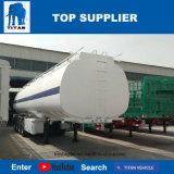 Titan-Fahrzeug 33000 Liter-Kraftstoff-Transport-Tanker-Schlussteil mit 3 Wellen für Verkauf