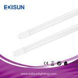 10W/18W/24W de alta eficiencia de ahorro de energía Lumen LED T8 el tubo de vidrio