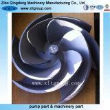 Бросание нержавеющей стали и, котор подвергли механической обработке турбинка насоса в отливке облечения