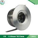 Cabinet Mini LED Spot Light (DC350mA, 1W)