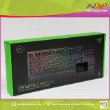 Fabricación personalizada de teclado de ordenador caja de embalaje paquete plegado