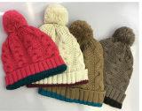 Зимние Red Hat акриловый Custom Вязки Вязки Beanie Red Hat POM