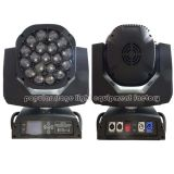 19PCS 15W Bee Eye LED Moving Head Beam Light com Zoom