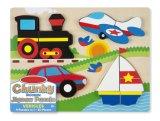 Fahrzeug-hölzernes klumpiges Puzzle (20 PCS)