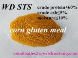 Le gluten de maïs pour la poudre de protéine de 60 % de protéines d'alimentation