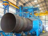 Machine en acier de grenaillage de série de Qg pour la pipe de nettoyage