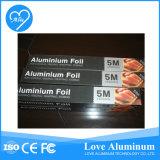 절단기 상자를 가진 알루미늄 호일