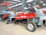 ディーゼル機関の移動式木製の押しつぶす機械