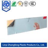 Effacer PE Film de protection adhésive pour Feuille acrylique/ panneau composite en aluminium