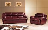 Sofà di cuoio moderno per il sofà del salone con cuoio genuino