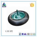 외바퀴 손수레 타이어 압축 공기를 넣은 무덤 바퀴/바퀴 고무 바퀴 (4.00-8, 3.50-8)