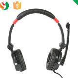 Cer und RoHS schwarzer Farben-Kopfhörer DJ-Kopfhörer mit Mic für Förderung