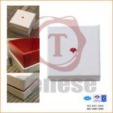 De elegante Doos van de Juwelen van de Gift van het Karton van het Inlegsel van het Fluweel