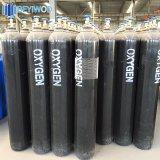 cilindro di ossigeno d'acciaio del cilindro della bombola per gas 150bar con la norma ISO
