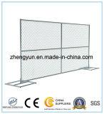 El panel temporal tejido galvanizado venta al por mayor de la cerca del acoplamiento