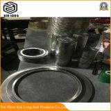 Guarnizione della ferita di spirale della grafite del metallo; Prezzo flessibile della guarnizione della ferita di spirale della guarnizione della ferita di spirale della grafite della guarnizione a spirale della ferita