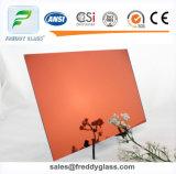o ácido geado cor-de-rosa do espelho de 2-12mm gravou o vidro