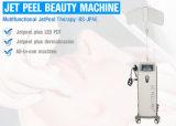 Limpeza profunda Rejuvenescimento da pele de casca de jacto de oxigénio Vertical Máquina Médica