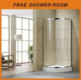Sitio de ducha de cristal vendedor caliente del vapor de la cabina de la ducha de los muebles de la pantalla de ducha del recinto de la ducha