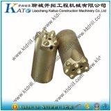 34mm/36mm /38mm 7 boutonne l'outil à pastilles de cône de carbure de partie lisse de 22mm