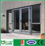 Doppi portelli di alluminio della stoffa per tendine di apertura dell'oscillazione con As2047 (PNOC0015CMD)