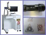 Mini máquina óptica portable de la marca del laser de la fibra 20W para sanitario