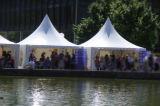 Tent van de Pagode Gazebo van Guarden van de Vrije tijd van Upal de Openlucht Pop omhooggaande