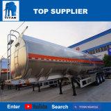 De Aanhangwagens van de Olietanker van Tankercooking van de Brandstof van het Aluminium van de tri-As van de titaan
