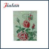 販売法の健康な無光沢の花デザインペーパーギフト袋