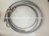 Seule la tresse de fil en acier renforcé le flexible hydraulique R14 avec doublure en PTFE lisse