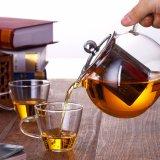 Theepot van de Gift van het Glas van de Theepot van het Glas van de Theepot van de Koffie van het glas de Vastgestelde