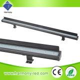 Impermeable al aire libre de luz LED lineal, LED arandela de la pared de la lámpara de 24W