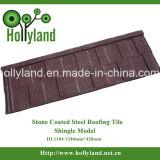 Telha de telhadura revestida de pedra do metal (tipo da telha)